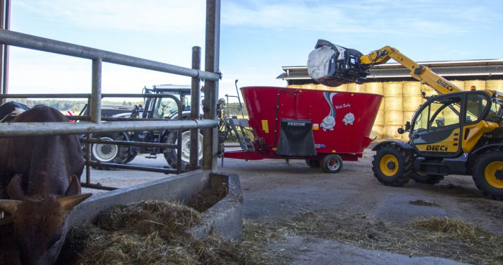 TELEHANDLERS FOR AGRICULTURE - Dieci srl