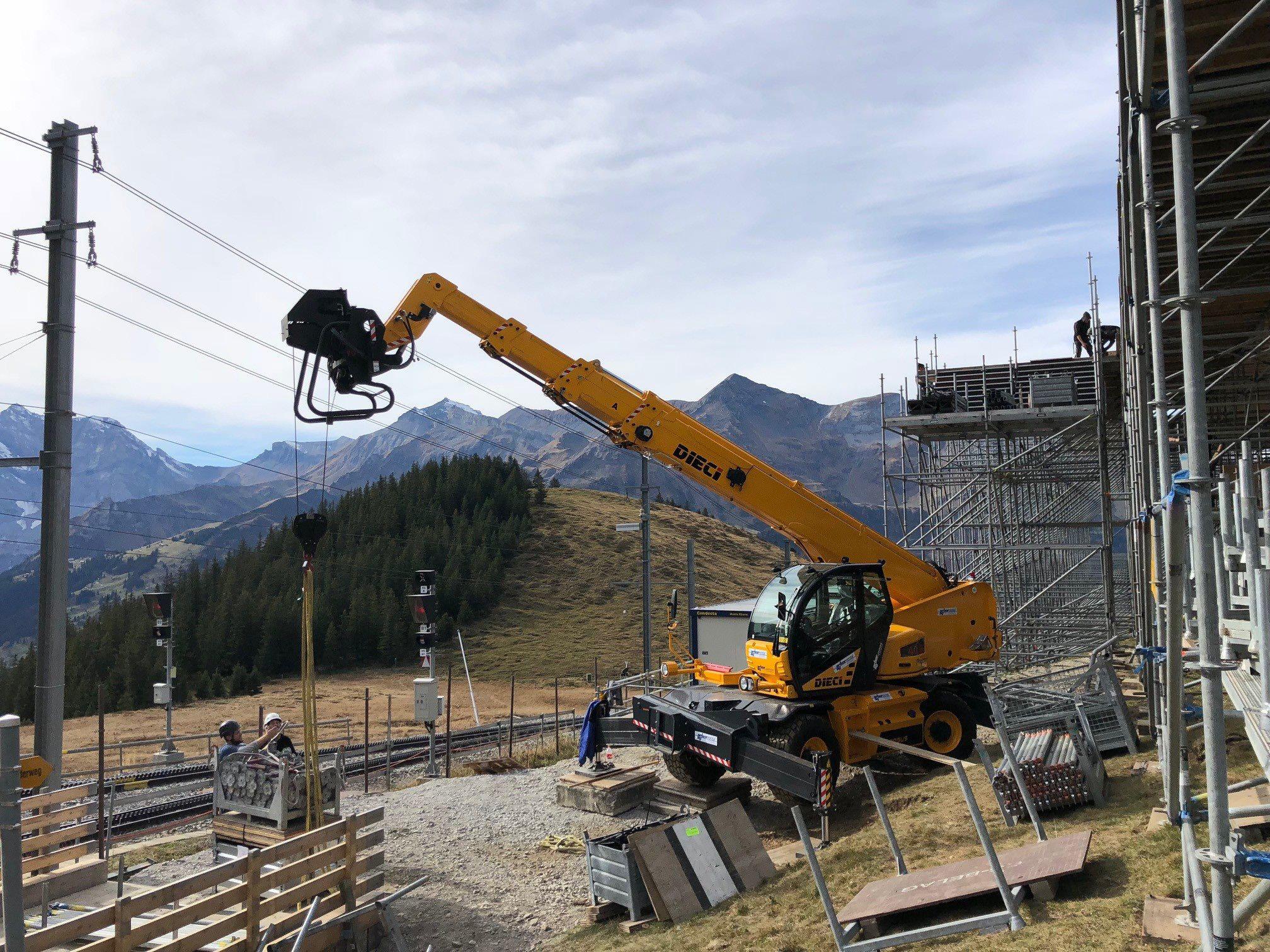 Pegasus sulle Alpi Svizzere